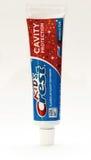 Crema dental de la cresta Imagen de archivo libre de regalías