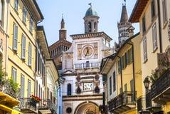 Crema (Italien) Lizenzfreies Stockbild