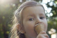 Crema saporita Fotografia Stock Libera da Diritti