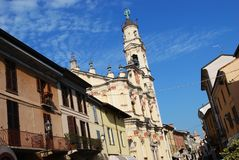 Crema town, Italy Royalty Free Stock Photography