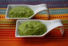 Crema verde delle fave Immagini Stock Libere da Diritti