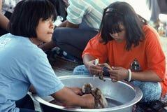 Cremación total en Tailandia Imagenes de archivo