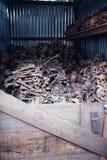 Cremación total en Tailandia Foto de archivo