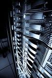 Cremagliera del server immagini stock