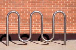 Cremagliera della bici Fotografie Stock Libere da Diritti