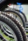 Cremagliera della bici Immagine Stock