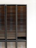Cremagliera o armadietto della lettera Fotografie Stock Libere da Diritti