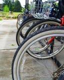 Cremalheira da bicicleta Imagens de Stock
