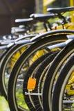 Cremalheira das bicicletas Imagem de Stock