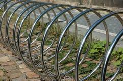Cremalheira de bicicleta Fotografia de Stock Royalty Free