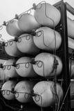 Cremalheira de recipientes do gás de CNG/NGV Imagens de Stock