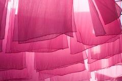 Cremalheiras de secagem Foto de Stock Royalty Free