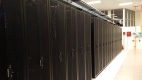 Cremalheiras do servidor Imagem de Stock