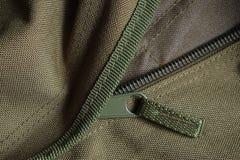 Cremallera táctica del bolso del ejército de la bolsa de viaje Foto de archivo