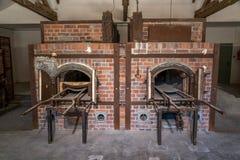 Crematório de Dachau imagem de stock royalty free