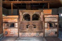 Crematório #1 de Dachau foto de stock