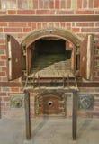 Crematório do forno do campo de concentração de Dachau imagem de stock royalty free