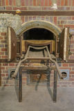Crematório do forno do campo de concentração de Dachau fotos de stock royalty free