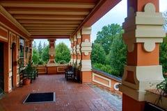 Crematório em Pardubice foto de stock royalty free