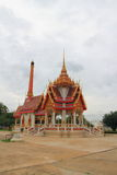 Crematório em Wat Khun Thip fotos de stock royalty free
