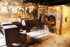 Crematório nazista Foto de Stock Royalty Free