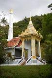 crematório no monastério budista imagem de stock royalty free