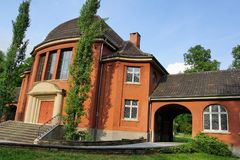 Crematório no tuttlingen fotos de stock