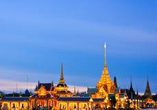 Crematório real tailandês imagens de stock