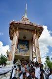 Crematório Tailândia imagem de stock royalty free