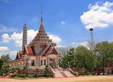 Crematório tailandês ou pira funerária fúnebre imagem de stock royalty free