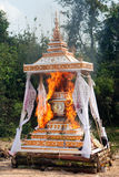 Cremation Buddhist Royalty Free Stock Photography