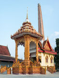 Cremation place of Thailand Stock Image