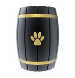 Cremation urn for pets Stock Photos