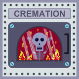 Cremation Royalty Free Stock Photography