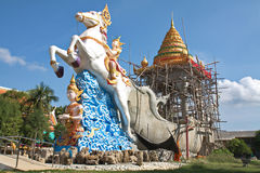 Crematoir Boeddhisme stock foto's