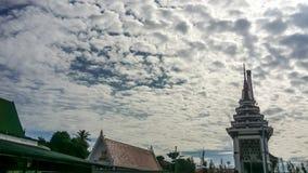 Crematoir van Boeddhisme in Thailand royalty-vrije stock fotografie