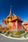 Crematorio tailandés real Foto de archivo
