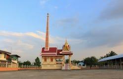 Crematorio a Wat Sukhan Tharam Fotografie Stock Libere da Diritti