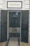 crematorium кремации кладбища стоковая фотография