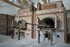 Crematorium at Dachau 2 Royalty Free Stock Photo