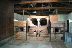 Crematorium przy Dachau zdjęcia stock