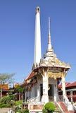 Crematorium at Thai temple Stock Images