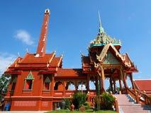 Crematorium at Thai temple Royalty Free Stock Photo