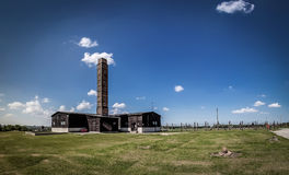 Crematory in Majdanek. Crematorium at Majdanek. Here burned Jews and not only Stock Photography