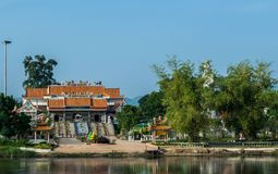 Crematory. Temple in thailand royalty free stock photos
