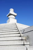 Crematory tower. Of japanese style Stock Image