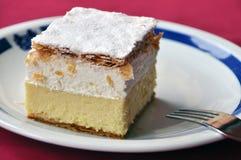 Creme κέικ Στοκ φωτογραφία με δικαίωμα ελεύθερης χρήσης