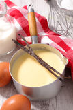 Creme заварного крема стоковая фотография rf