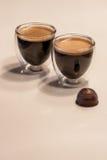 Creme кофе заваренный дома Стоковые Фотографии RF