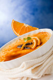 Creme brule Stock Photo
